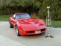 This is a 1980 Corvette with 40,500 original miles with