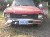 SO what I have is a 1980 chevy LUV that has some usable