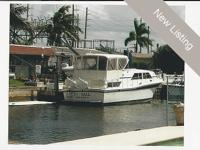 The Chris Craft 381 Catalina is an enlarged version of
