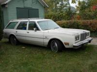 1980 Chrysler LaBaron Station Wagon. Old faithful.