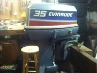 I have a 1980 evinrude it's a 35 horse power it's pull