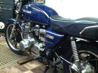 i have a suzuki 1980 gs 1000 g very nice clean