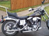 1980 Harley Low Rider only 10 % tho miles runs great