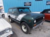 1980 International Precursor II Rallye Version. $16,000