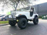 STUNNING 1980 JEEP CJ5.DRIVEN APROX. 10,000 MILES SINCE