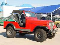 1980 Jeep CJ5 4x4 - Clean! 4 Wheel Drive, 330 HP AMC
