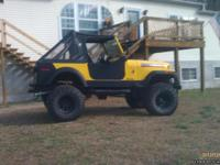 1980 CJ7 this is a very nice jeep. It has a 350 chevy
