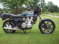 Here is a beautiful unrestored all original kz 1300.