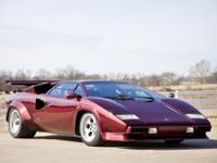 for countach sale lamborghini red impeccable