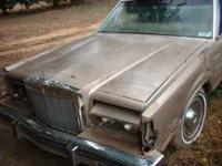 We have here a nice 1980 Lincoln Mark. It runs fair and