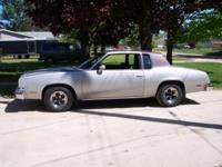 I am offering my 1980 Oldsmobile Cutlass Supreme that