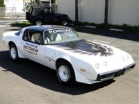 1980 PONTIAC TRANS AM PACE CAR TURBO, T TOPS, AUTO,