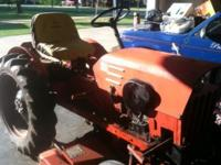 I HAVE A POWERKING SMALL TRACTOR WITH: 12 VOLT ELEC.