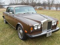 1980 Rolls-Royce Silver Shadow - Wraith II,  Here is a