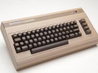 Vintage Commodore C64 in the original box. Monitor also