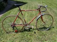 1980's huffy 10 speed road bike. this bike is 100%