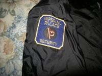 1980's Xl Imperial Palace Security Jacket Las Vegas