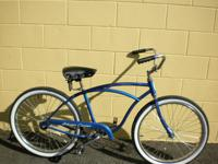 "Vintage 1980 Schwinn Cruiser. 24"" wheels. $175 Mike"