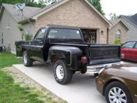 California truck. This is the short stepside bed, (just