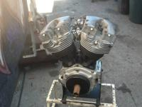 1980 SHOVELHEAD MOTOR WITH S&S CASES CAME OUT OF A