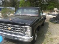1980 Chevy step side with diesel. motor low mileage on