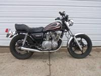 1980 Suzuki GS 550L runs out great and is in good