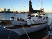 45' LOA Pilot House Ketch live-aboard. Top condition;