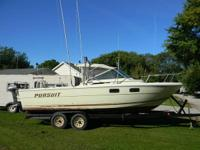 1980 Tiara 25'  305 engine, Mercruiser lower unit  15
