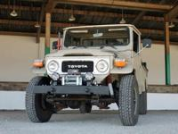 1980 FJ45 Toyota Land Cruiser Pick-Up. Mileage is