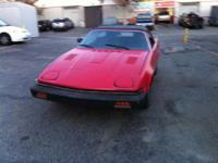 I am selling my 1980 Triumph TR7 convertible. We have