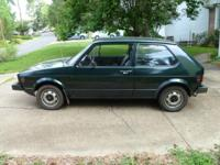 1980 VW Rabbit in very good shape. 1.5 liter engine. 4