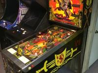 1980 Williams Black Knight Pinball Machine!  This