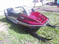 snowmobile is in excellant condition .2,866 origanal