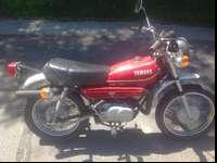 1980. Yamah. Gat 80. Oil injected two stroke. Street