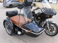 Custom Sidecar, numerous extras!Many bonus. Effectively