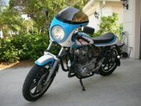 1980 Yamaha XS650 CUSTOM BUILT CAFE/TRACKER-For a