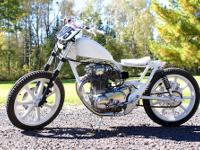 This bike started out as a low mileage 1980 Xs650. The
