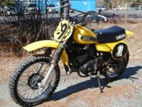 Rare 1980 Yamaha YZ50G race bike!!! Made only 1 year
