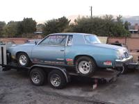 1980 Oldsmobile Cutlass 1/4 mile racing car. Vin#