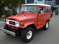 Gorgeous Vintage Toyota Land Cruiser This vehicle is in