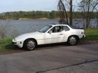 1981 Porche,924 turbo, 68000 garaged white exit brown