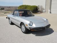 1981 Alfa Romeo Spider Veloce Roadster ..Super Low