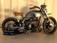 CUSTOM BUILT R100 BMW BOXER AIRHEAD BOXER MOTORCYCLE.