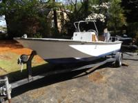 This classic Boston Whaler Montauk has been mostly a
