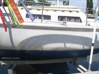Catalina 25 Sailboat 1981 9.9 Electric Start Evinrude