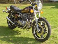 1981 cb6550c with under 22000 miles. Have the tool kit