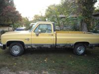 I have a straight All Original Chevy pickup for sale or
