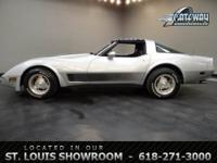 For sale is a 1981 Chevrolet Corvette with a 383 CID