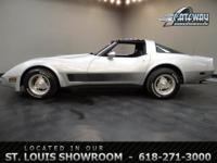 Available is a 1981 Chevrolet Corvette with a 383 CID