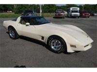 This is a very collectible and unique 1981 Corvette